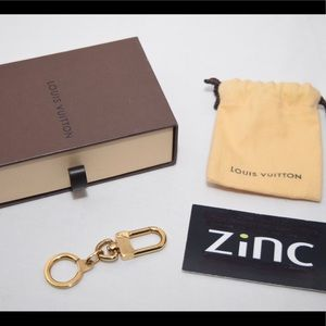 Louis Vuitton Anokre Gold bag Charm, keychain.